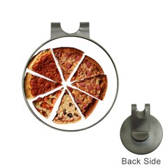 Food Fast Pizza Fast Food Hat Clips With Golf Markers