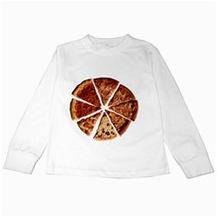 Food Fast Pizza Fast Food Kids Long Sleeve T Shirts by Nexatart