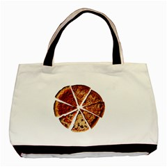 Food Fast Pizza Fast Food Basic Tote Bag