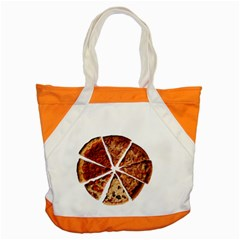 Food Fast Pizza Fast Food Accent Tote Bag by Nexatart