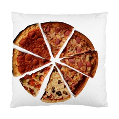 Food Fast Pizza Fast Food Standard Cushion Case (one Side) by Nexatart