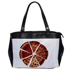 Food Fast Pizza Fast Food Office Handbags by Nexatart