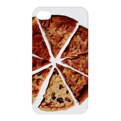 Food Fast Pizza Fast Food Apple Iphone 4/4s Premium Hardshell Case by Nexatart