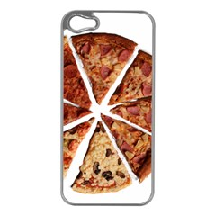 Food Fast Pizza Fast Food Apple Iphone 5 Case (silver)
