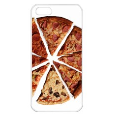 Food Fast Pizza Fast Food Apple Iphone 5 Seamless Case (white)