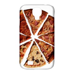 Food Fast Pizza Fast Food Samsung Galaxy S4 Classic Hardshell Case (pc+silicone) by Nexatart