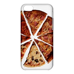 Food Fast Pizza Fast Food Apple Iphone 5c Hardshell Case by Nexatart