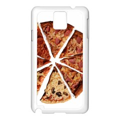 Food Fast Pizza Fast Food Samsung Galaxy Note 3 N9005 Case (white)
