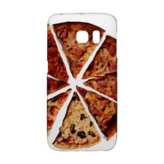 Food Fast Pizza Fast Food Galaxy S6 Edge by Nexatart
