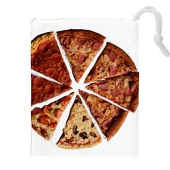 Food Fast Pizza Fast Food Drawstring Pouches (xxl)