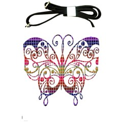 Butterfly Nature Abstract Beautiful Shoulder Sling Bags