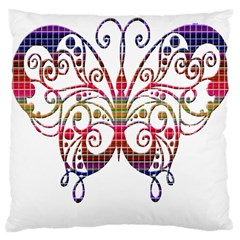 Butterfly Nature Abstract Beautiful Large Cushion Case (two Sides)