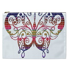 Butterfly Nature Abstract Beautiful Cosmetic Bag (xxl)