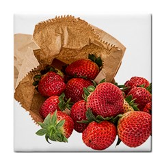 Strawberries Fruit Food Delicious Tile Coasters