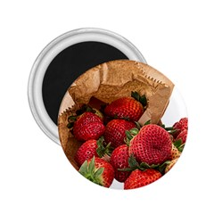 Strawberries Fruit Food Delicious 2 25  Magnets