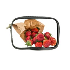 Strawberries Fruit Food Delicious Coin Purse