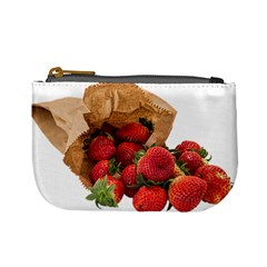 Strawberries Fruit Food Delicious Mini Coin Purses