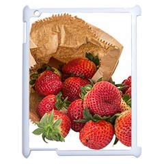 Strawberries Fruit Food Delicious Apple Ipad 2 Case (white)