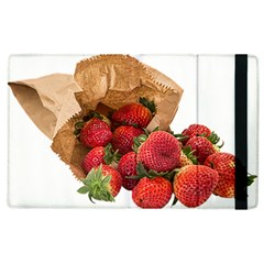 Strawberries Fruit Food Delicious Apple Ipad 3/4 Flip Case by Nexatart