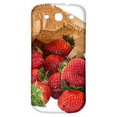 Strawberries Fruit Food Delicious Samsung Galaxy S3 S Iii Classic Hardshell Back Case by Nexatart