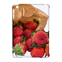 Strawberries Fruit Food Delicious Apple Ipad Mini Hardshell Case (compatible With Smart Cover) by Nexatart