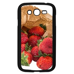 Strawberries Fruit Food Delicious Samsung Galaxy Grand Duos I9082 Case (black) by Nexatart
