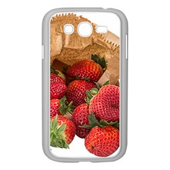 Strawberries Fruit Food Delicious Samsung Galaxy Grand Duos I9082 Case (white) by Nexatart