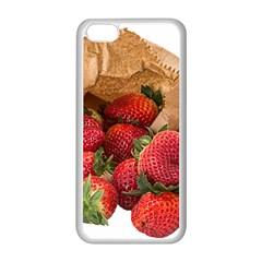 Strawberries Fruit Food Delicious Apple Iphone 5c Seamless Case (white)