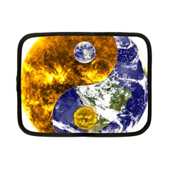 Design Yin Yang Balance Sun Earth Netbook Case (small)