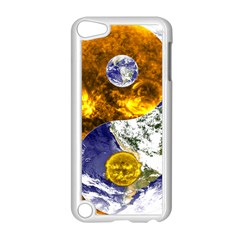 Design Yin Yang Balance Sun Earth Apple Ipod Touch 5 Case (white) by Nexatart
