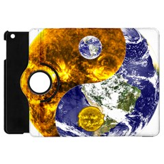 Design Yin Yang Balance Sun Earth Apple Ipad Mini Flip 360 Case