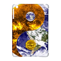 Design Yin Yang Balance Sun Earth Apple Ipad Mini Hardshell Case (compatible With Smart Cover) by Nexatart