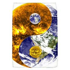 Design Yin Yang Balance Sun Earth Flap Covers (l)  by Nexatart