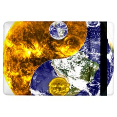 Design Yin Yang Balance Sun Earth Ipad Air Flip by Nexatart