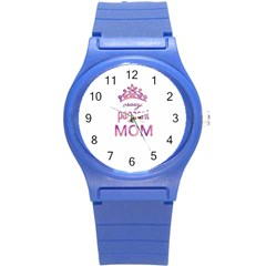 Crazy Pageant Mom Round Plastic Sport Watch (s) by Valentinaart