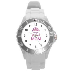Crazy Pageant Mom Round Plastic Sport Watch (l) by Valentinaart