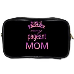 Crazy Pageant Mom Toiletries Bags 2 Side by Valentinaart