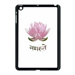 Namaste   Lotus Apple Ipad Mini Case (black) by Valentinaart