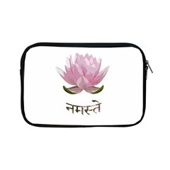 Namaste   Lotus Apple Ipad Mini Zipper Cases by Valentinaart