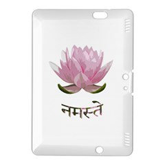 Namaste   Lotus Kindle Fire Hdx 8 9  Hardshell Case by Valentinaart