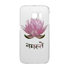 Namaste   Lotus Galaxy S6 Edge by Valentinaart