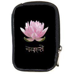 Namaste   Lotus Compact Camera Cases by Valentinaart