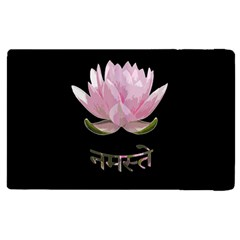 Namaste   Lotus Apple Ipad 3/4 Flip Case by Valentinaart