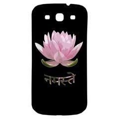 Namaste   Lotus Samsung Galaxy S3 S Iii Classic Hardshell Back Case by Valentinaart