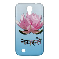 Namaste   Lotus Samsung Galaxy Mega 6 3  I9200 Hardshell Case by Valentinaart