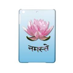Namaste   Lotus Ipad Mini 2 Hardshell Cases by Valentinaart