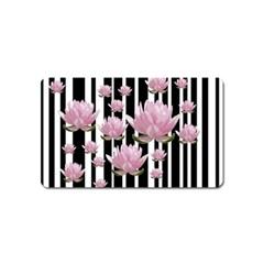 Namaste   Lotus Magnet (name Card) by Valentinaart