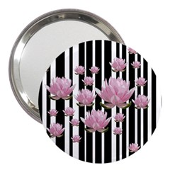 Namaste   Lotus 3  Handbag Mirrors by Valentinaart