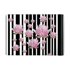 Namaste   Lotus Apple Ipad Mini Flip Case by Valentinaart