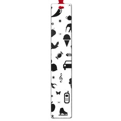 Rebus Large Book Marks by Valentinaart